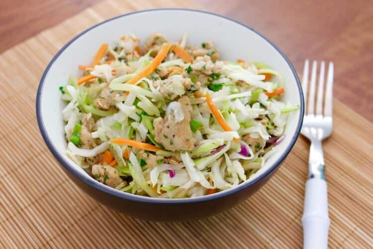 Fast food made this with this super-healthy egg roll in a bowl!