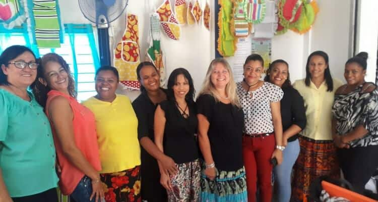 Sucher Family/Missionary Ventures Sewing Ministry in the Dominican Republic