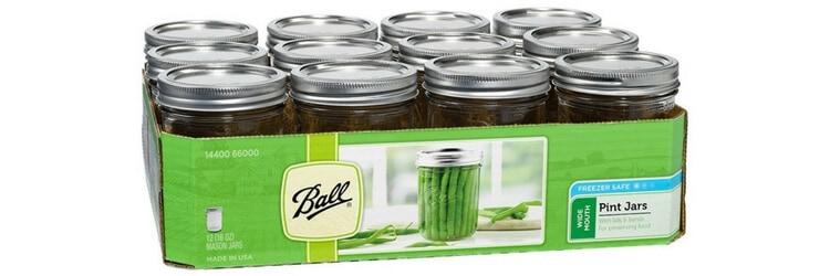ball wide mouth mason jars