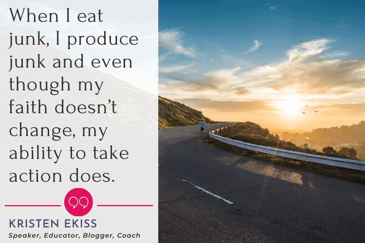 quote about Biblical diet tips