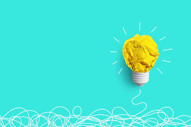 image of a bright idea lightbulb