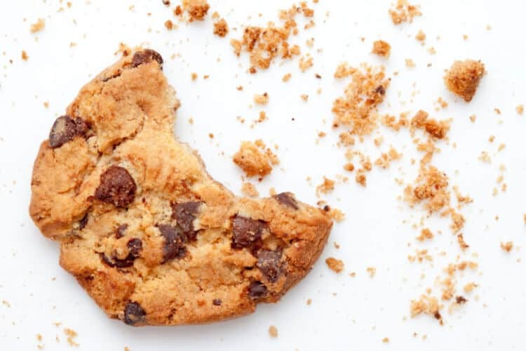 picture of eaten cookie