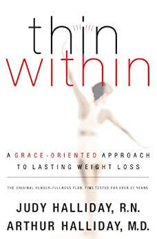 picture of christian weight loss book thin within