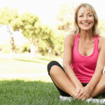 smiling woman motivated to exercise